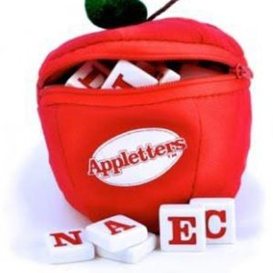 Appletters by Bananagrams Word Game Ages 6+